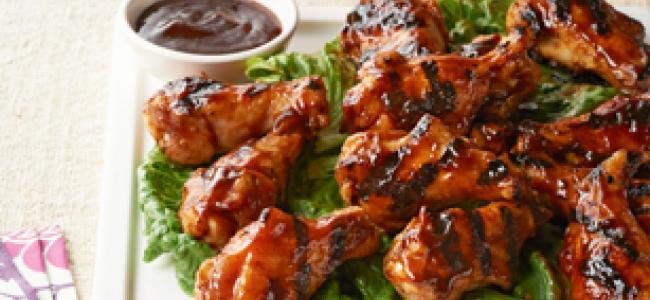 Asian Honey BBQ Chicken Wings
